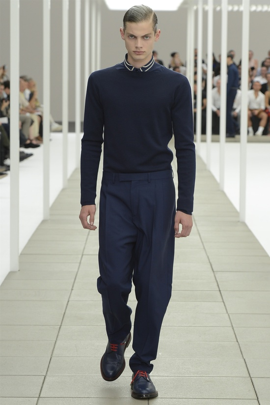 Dior Homme menswear Spring Summer 2013 collection