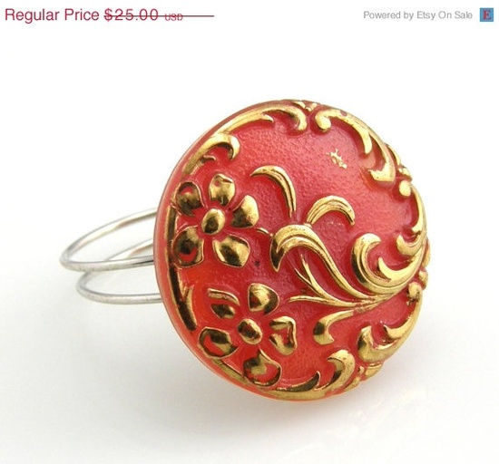 Cyber Monday Black Friday Vintage Red and by TrinketsNWhatnots, $17.50