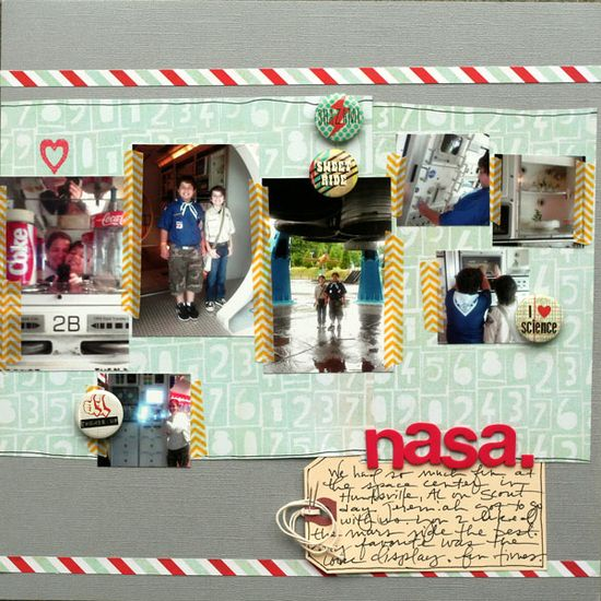 7 Ideas for Adding Attitude to your Scrapbook Pages with Trendy Flair
