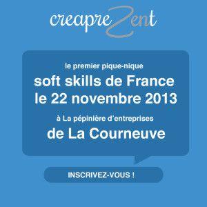 le premier pique-nique soft skills de France le 22 novembre 2013 à La pépinière d'entreprises de La Courneuve.