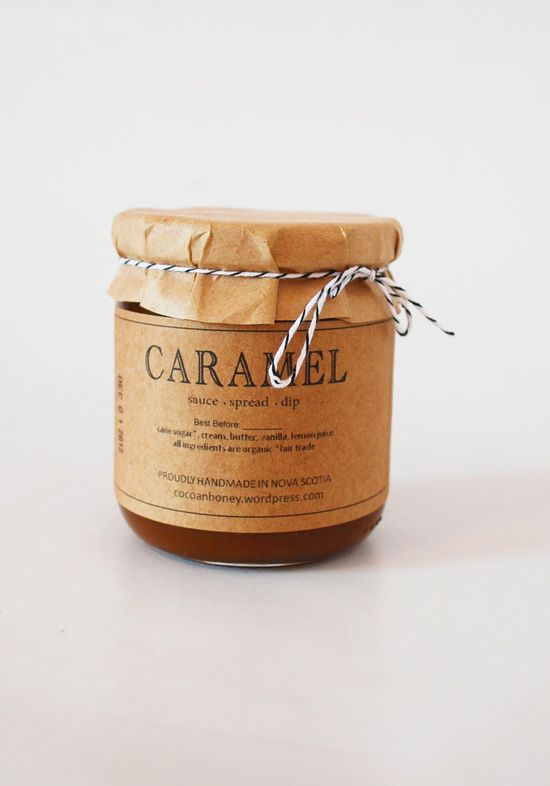 Give the gift of sweetness: small batch caramel sauce made from organic fair trade cane sugar. $10.00, via Etsy.