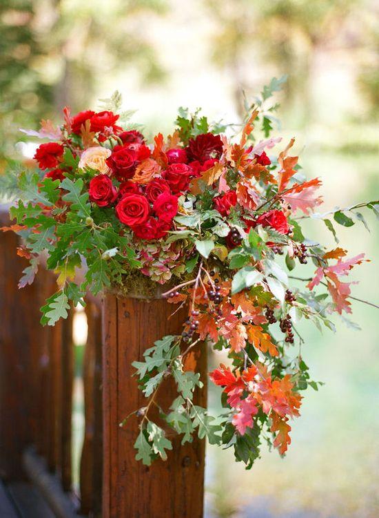 fall flower inspiration