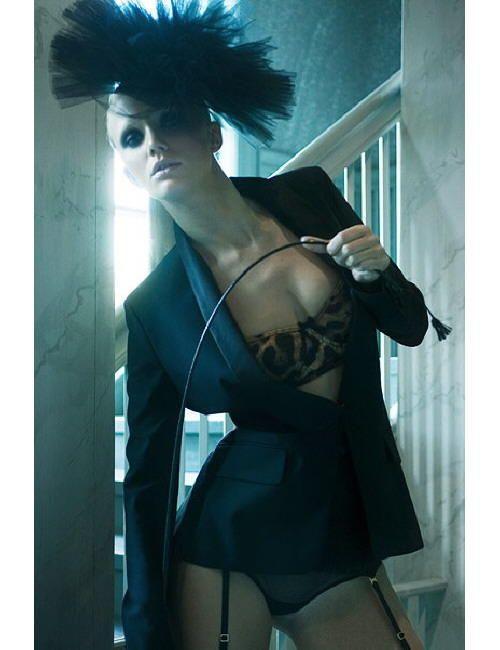 fashion model Asa Stensson