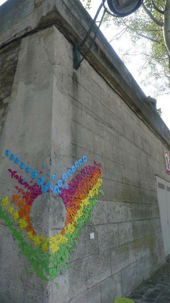 Origami graffiti #Graffiti