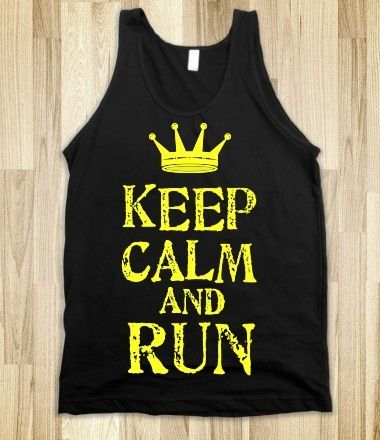Keep Calm and Run from Glamfoxx Shirts #keepcalm #run #workout #exercise #train #crosstrain #zumba #crossfit