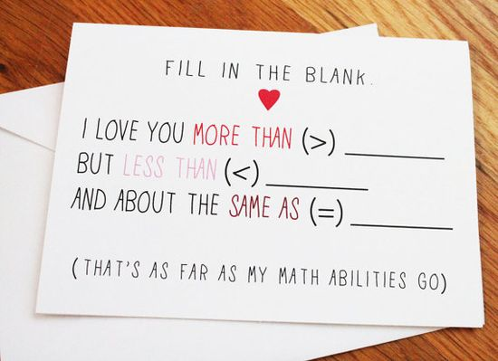 Fill in the Blank Math  Nerdy Funny Ad Libs by sillyreggie on Etsy