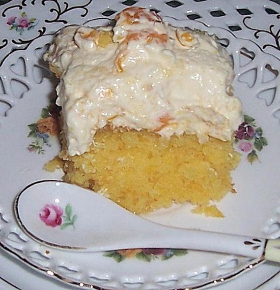 Orange Blossom Dream Cake