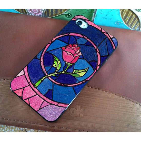 Rose Beauty And Beast Disney - for iPhone 4 case iphone 4S case iPhone... ($16) ? liked on Polyvore