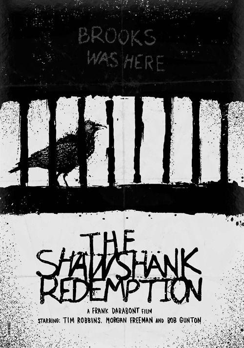 The Shawshank Redemption  Minimal Movie Poster by Daniel Norris