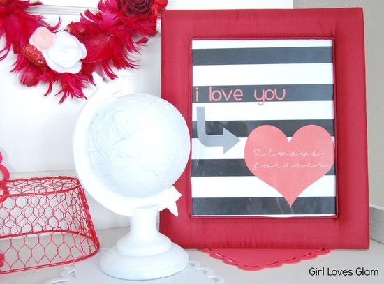 valentine's day printable from @girllovesglam