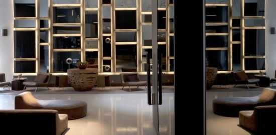 Luxury Stylish Boutique Hotel Interior Design of Andaz Liverpool Street London, UK - Wall of Mirrors