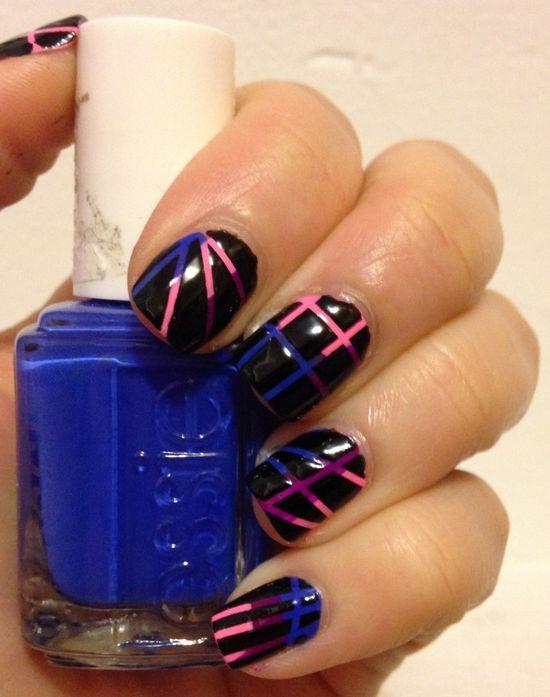 Love this creative nail idea!