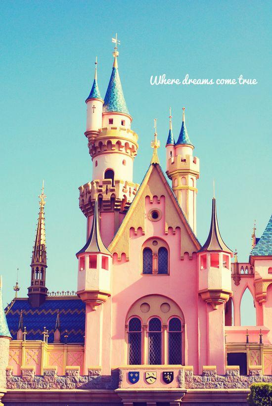 Disneyland's Sleeping Beauty Castle.