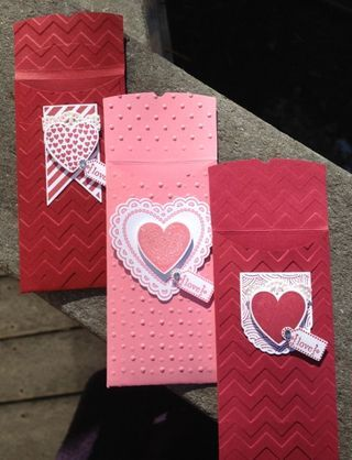 Petite Pocket Bigz XL Die (Stampin' Up!) lollipop (or another other treat that will fit) holder