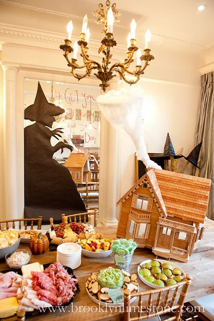 Wizard of Oz themed Halloween Party!