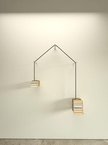 read-unread bookshelf : niko economidis design