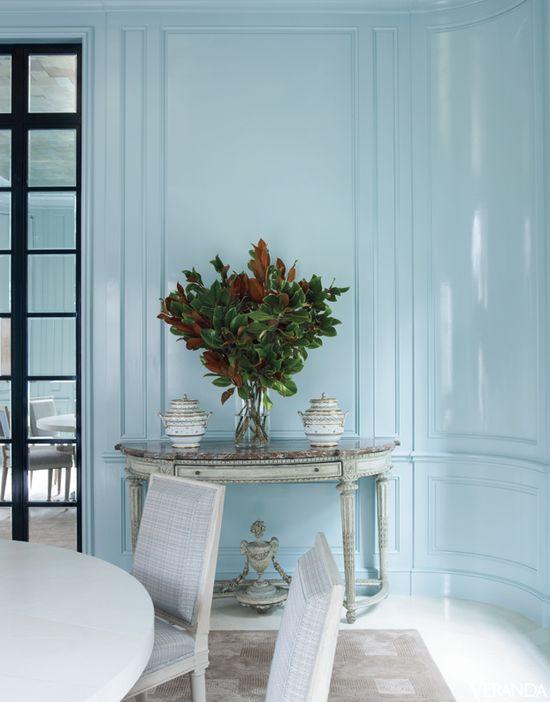 Interior Design by David Kleinberg.