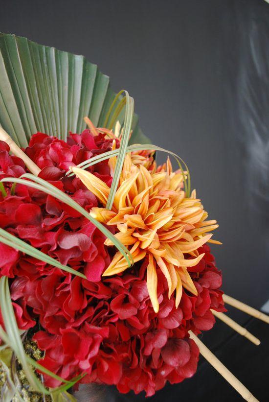 Sabrina Flower Arrangement by StemsandThings on Etsy, $165.00