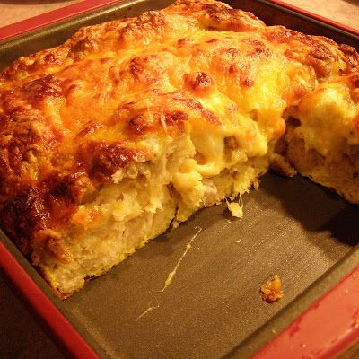 Breakfast casserole with biscuits, eggs, meat and cheese is the student who tends to excel no matter what style is used.  They jump right in and mix it all together.