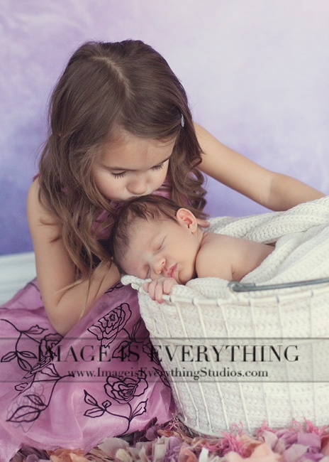Sisters ~ NJ Newborn Photography by Desiree Miller