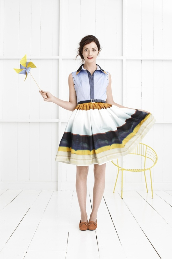 The @Lauren Davison Davison Davison Clark USA Spring Style Guide...