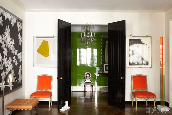 Contemporary eclectic, so chic