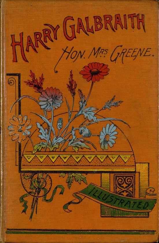 Harry Galbraith vintage book cover
