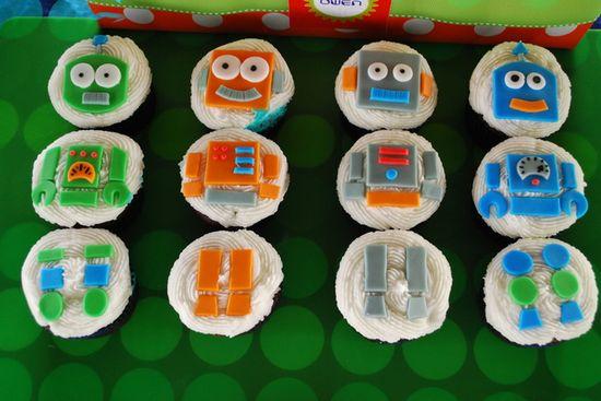 So adorable for a robot party! #robot #birthday #party