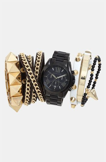 Michael Kors Watch & Bracelets