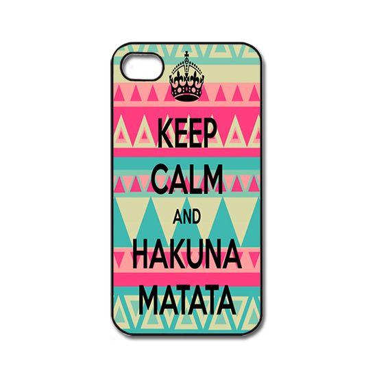 Keep Calm Hakuna Matata iPhone 4/ 4s /5
