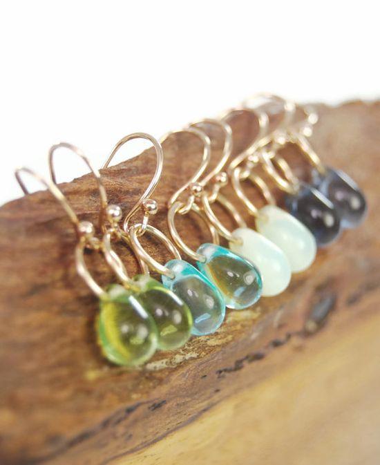 Leilani earrings  tiny by kealohajewelry