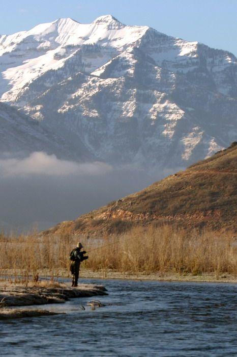 Provo River near Provo, Utah
