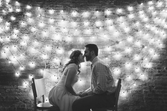 loving these lights! and photo wedding photography