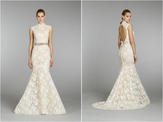 The Grace of Lace: Lazaro Fall 2013 Bridal