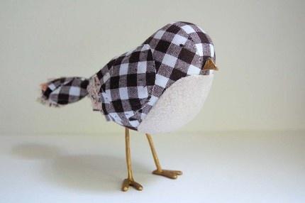 gingham birdie