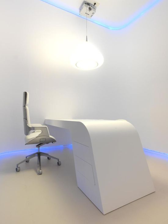 Minimalist office design - Spain