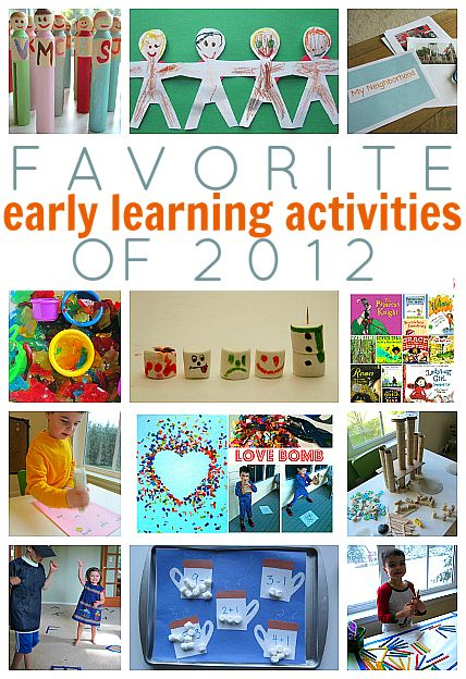 Fan Favorite Early Learning Activities of 2012 {from our Blog Ambassador Allison of No Time For Flash Cards}