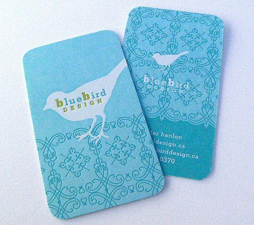 Blue Bird Design Card
