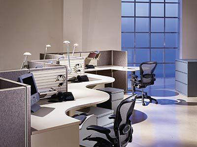 Small office interior design