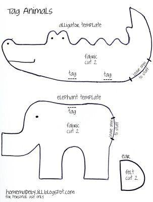 taggie animals tutorial
