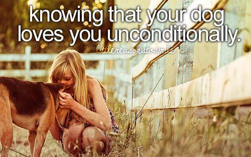 Unconditional love :)