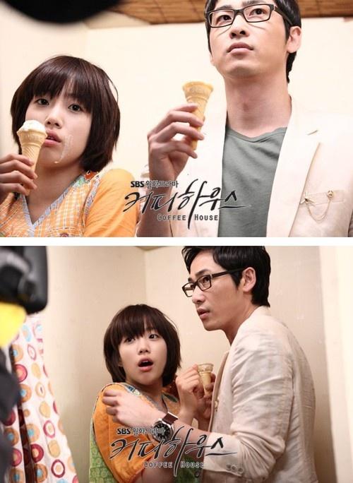 Coffee House ? Kang Ji Hwan as Lee Jin Soo ? Park Si Yeon as Seo Eun Young ? Ham Eun Jung as Kang Seung Yeon ? Jung Woong In as Han Ji Won ? Park Jae Jung as Kim Dong Wook