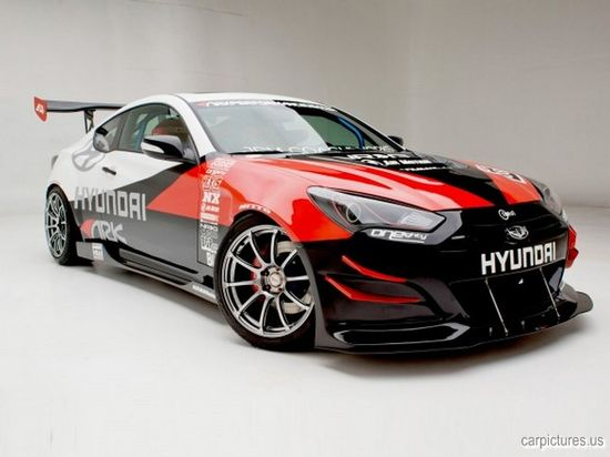 2012 ARK Performance Hyundai Genesis Coupe R-Spec Track Edition
