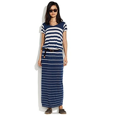 striped lagoon dress from Madewell