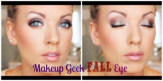 ? Makeup Geek FALL Eye Makeup ?
