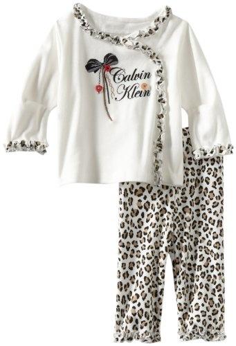 Calvin Klein Baby-Girls Newborn Top With Animal « Clothing Impulse