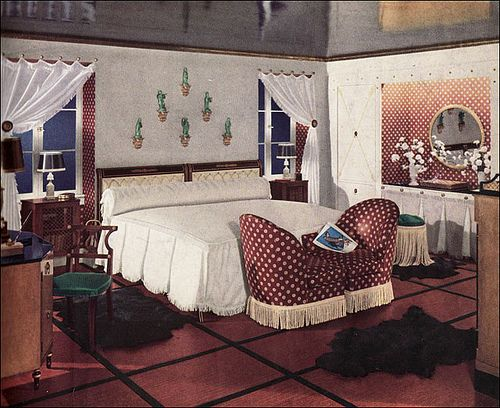 1936 Middle Class Glam by American Vintage Home, via Flickr