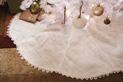 simple tree skirt tutorial