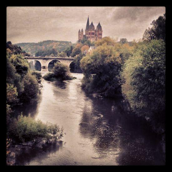 Scenic view of Limburg an der Lahn, Germany #europe #limburg #travel