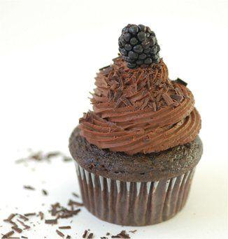 Chocolate Mousse Cupcakes - vegan